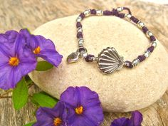 Scallop bracelet of St James ~ heather  http://www.indalomart.com/index.php/inspirational-presents-with-meaning-gifts-shop#!/~/product/id=15394191