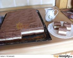 Dobrý koláč Sweet Recipes, Cake Recipes, Dessert Recipes, Desserts, Ice Cream Recipes, 4 Ingredients, Nutella, Tiramisu, Food And Drink