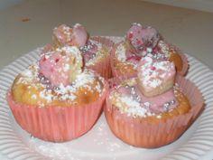 Muffin St valentin  Framboise