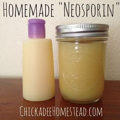 Homemade Natural Healing Balm (substitute for Neosporin) | Chickadee Homestead