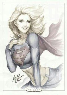 Supergirl awesome artwork: