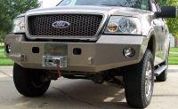 Front Winch Bumper F150 (04-08): BlueLakeOffroad