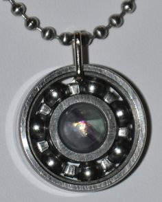 WANT! Bearing necklace :)
