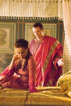 Rome - Atia and Mark Antony