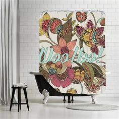 Valentina Ramos - Woohoo, Shower Curtain, 180x180
