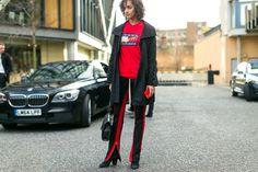 The Best Street Style from London Fashion Week - HarpersBAZAAR.com