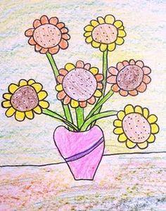 Great Van Gogh art project for elementary school.