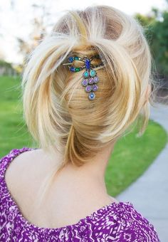 Updo spout held with a felxi-clip. - LMP