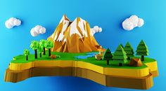 low poly windmill - Google Search
