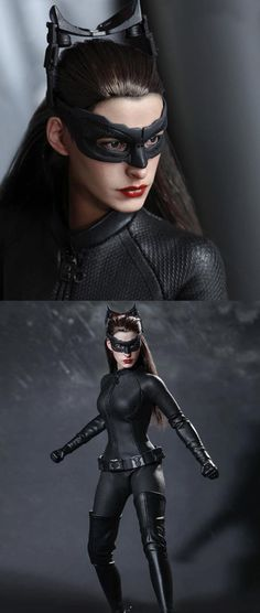 Discover recipes, home ideas, style inspiration and other ideas to try. Catwoman Cosplay, Batman And Catwoman, Batgirl, Supergirl, Maquillage Halloween, Comic Movies, Marvel Dc Comics, Female Characters, Gotham