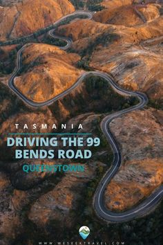 This contains: DRIVING THE RING ROAD Queenstown Tasmania, Amazing Destinations, Travel, Viajes, Destinations, Traveling, Trips