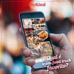 O MyKind é a rede social exclusiva do street e pop-up food! Marque aqui o seu food truck favorito pra todo mundo conhecer =)