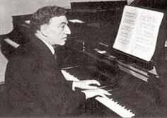 Josef  Lhévinne  (1874-1944) was a Russian pianist and piano teacher. He wrote a short book in 1924 that is considered a classic: Basic Principles in Pianoforte Playing. He was born into a family of musicians and studied at the Imperial Conservatory in Moscow. His public debut came at the age of 14 with Beethoven's Emperor Concerto conducted by his musical hero Anton Rubinstein. He graduated at the top of a class with both Rachmaninoff and Scriabin, winning the Gold Medal for piano in 1892.