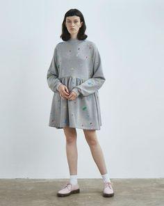 Lazy Oaf Random Icon Sweater Dress - Dresses - Categories - Womens