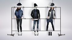 """G-STAR RAW, """"Implement  globaly in stores"""", creative by KIMBAND, pinned by Ton van der Veer"""