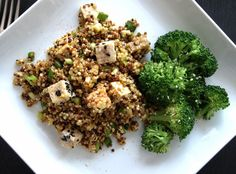 Sesame Quinoa with Tofu - Also great with Brown Rice