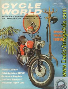 1967 April Cycle World - BSA Spitfire Mk  III motorcycle road test