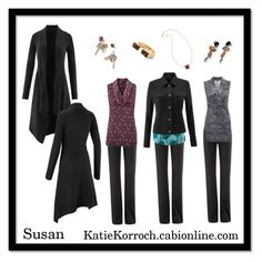 8287e7c6eb0d8 Susan 2 by katiedid59 on Polyvore featuring CAbi Sleeveless Tops