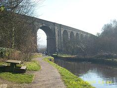 viaduct near Uppermill - Saddleworth