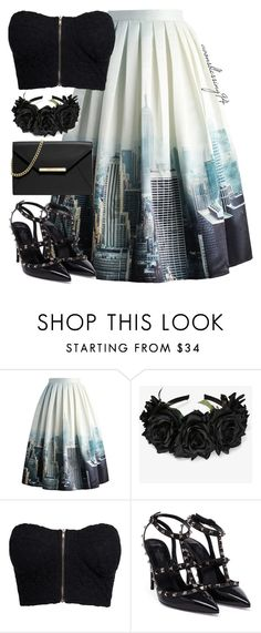 """""""NYC"""" by avonsblessing94 ❤ liked on Polyvore featuring Chicwish, NLY Trend, Valentino and MICHAEL Michael Kors"""