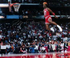Michael Jordan Autographed 16x20 Photo #GatoradeDunk #SportsMemorabilia #ChicagoBulls