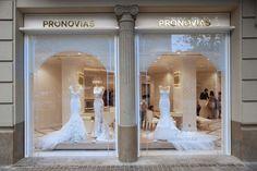 Pronovias new flagship store - Atelier Backstage