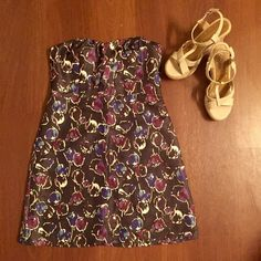 Brand new American Eagle strapless dress Never worn and gorgeous! Has a glittery material American Eagle Outfitters Dresses Strapless