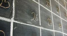 Make your own calendar #Vocalpoint #Calendar #DIY