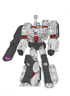 Transformers: Robots in Disguise Megatron Rebuilt Concept Art from Andrew Griffith