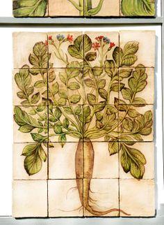 botanical tiles - stand Recuperando #recuperando - available on recuperando.com
