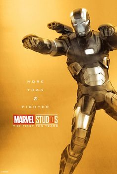 Marvel Studios More Than A Hero Poster Series War Machine Heroes Dc Comics, Bd Comics, Marvel Dc Comics, Marvel Heroes, Deadpool Comics, Rpg Marvel, Marvel Fan, Captain Marvel, The Avengers