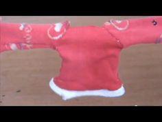 Tutorial: Passo a passo Blusa de Frio para boneca Barbie, Polly, Monster High ou Pullip - YouTube