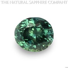 Natural Untreated Bluish Green Sapphire, 3.55ct. (U3442)