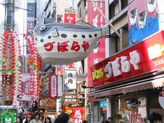 If I could live in a parallel city it would be Osaka without a doubt