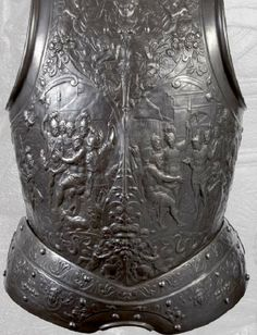 A breast plate, Europe, 15th century.