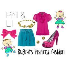 Rugrats, Phil & Lil