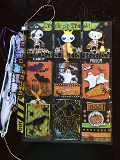 Halloween Pocket Letter - Scrapbook.com