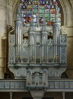Alencon - L'orgue de la basilique Notre-Dame