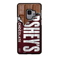 HERSHEY CHOCOLATE BAR Samsung Galaxy S4 S5 S6 S7 S8 S9 Edge Plus Note 3 4 5 8 Case Cover