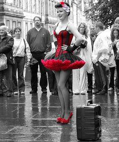 Edinburgh Fringe festival. Our tips for things to do in Edinburgh: http://www.europealacarte.co.uk/blog/2011/12/19/edinburgh-tips/