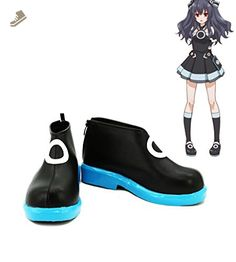 Choujigen Game Neptune Game Uni Cosplay Shoes Boots Custom Made - Telacos sneakers for women (*Amazon Partner-Link)