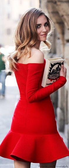 Millionairess of Pennsylvania Street Style - little red dress