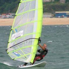 Windsurfing in Santander Spain!