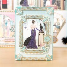 Hunkydory Claire Coxons Deco Shimmer Collection - Includes Toppers, Concept Cards and Writing Set Project 110 Pieces in Total (145791) | Create and Craft