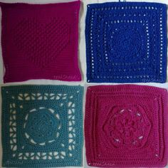 78th.stitch Friends Around the World CAL squares... 5 Heart Square 6 Sapphire Dream 7 Rosetta 8 Desire #crochetalong #cal #friendsaroundtheworldcal #octoghan #crochet #haken #crochetsavedmylife #crochetconcupiscence #crochetersofig #crochetersofinstagram #instacrochet #ilovecrochet #crochetobsession #stringobsession #obsessedwithstring #string #obsessedwithcrochet #CrochetAddict #StringAddict #YarnAddict #AddictedToYarn #AddictedToString #AddictedToCrochet