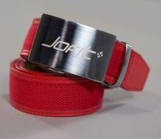Check out our Lipstick JoFit Ladies Signature Canvas Belts! Find the best golf gear and accessories at Lori's Golf Shoppe. Click through now to see this!