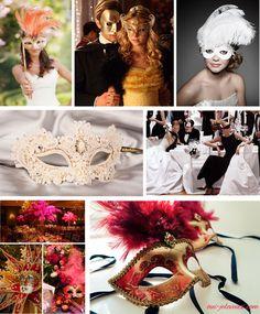 Un mariage sur le thème bal masqué? Oui, je le veux!