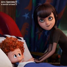 Mavis as Mom to Dennis from Hotel Transylvania 2
