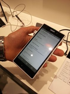 Sony Xperia Z1 http://news.softpedia.com/news/IFA-2013-Sony-Xperia-Z1-Launch-Event-and-Hands-On-Photos-380565.shtml