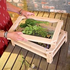Why spend a ton of money on overpriced stale herbs at the grocery store when you can simply dry your own at home using these cool new Stackable Herb and Flower Drying Racks.